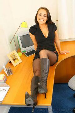 Solely Tease – Attractive Secretary Bethany
