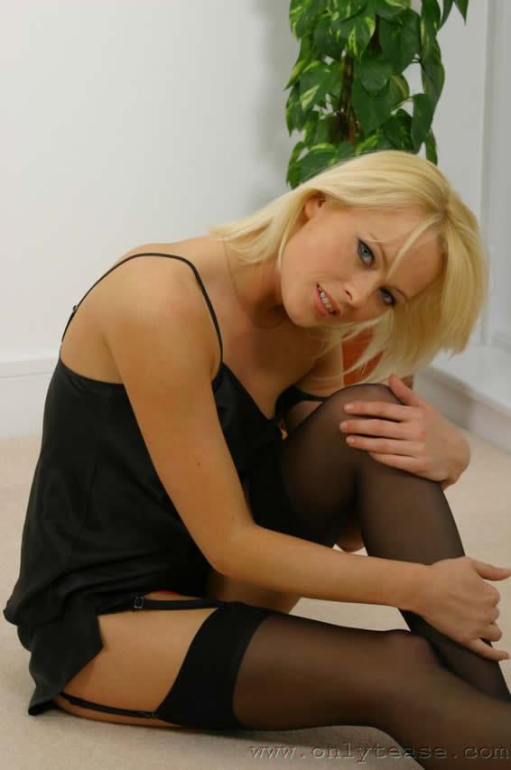 41910 Bbw Big Tits Lingerie Tgp   Jodie in Black Stockings
